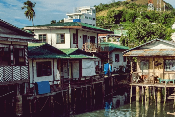 Coron traditional shacks