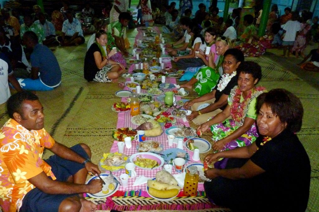 Celebration of a meal