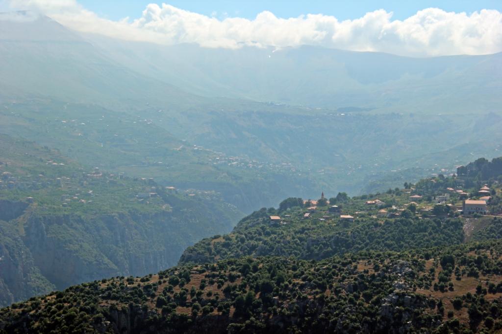Qadisha Valley Landscape