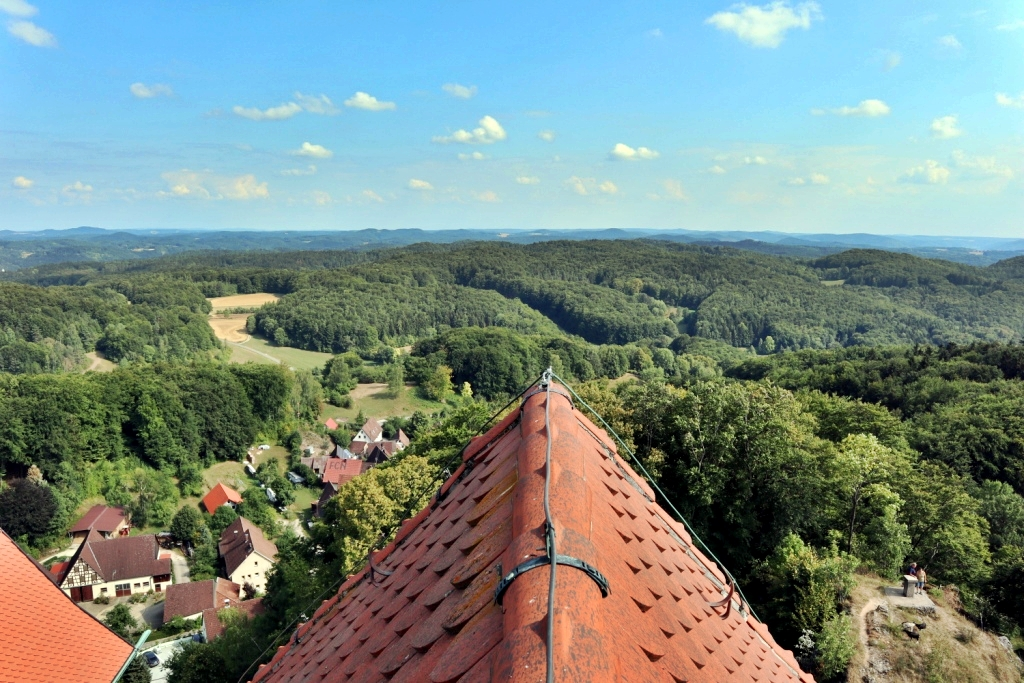 View From Hohenstein Castle