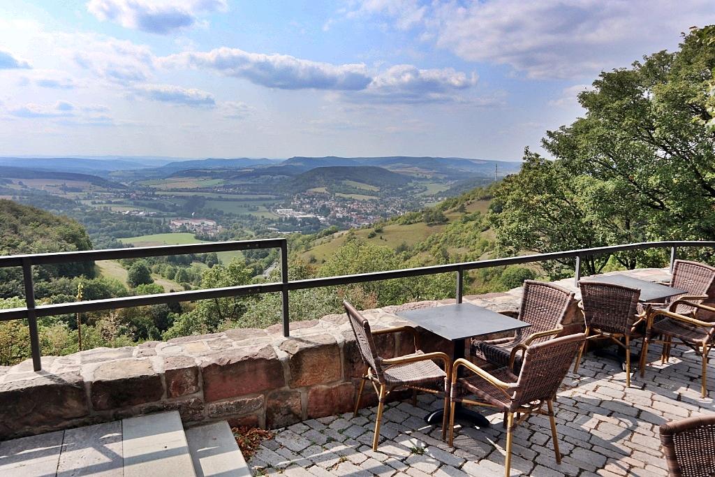 Leuchtenburg Castle Sun Terrace