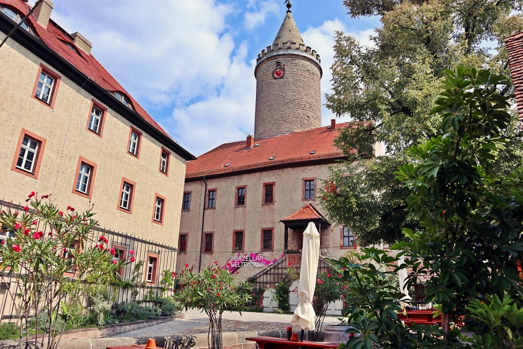 Leuchtenburg Courtyard