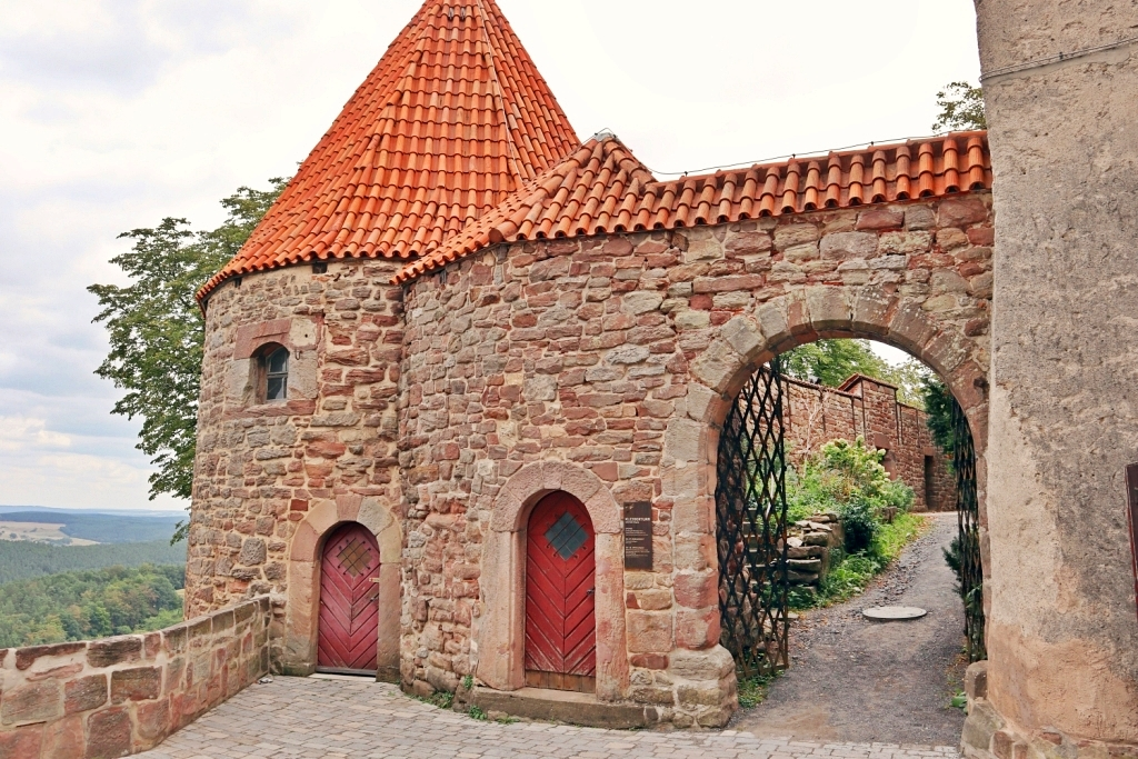 Leuchtenburg Medieval Castle Construction