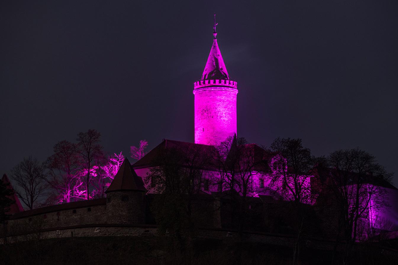 Pinke Burg (Stiftung Leuchtenburg)