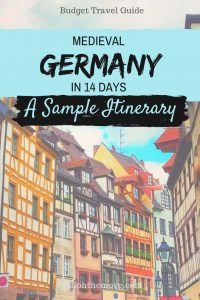 Medieval Germany Itinerary