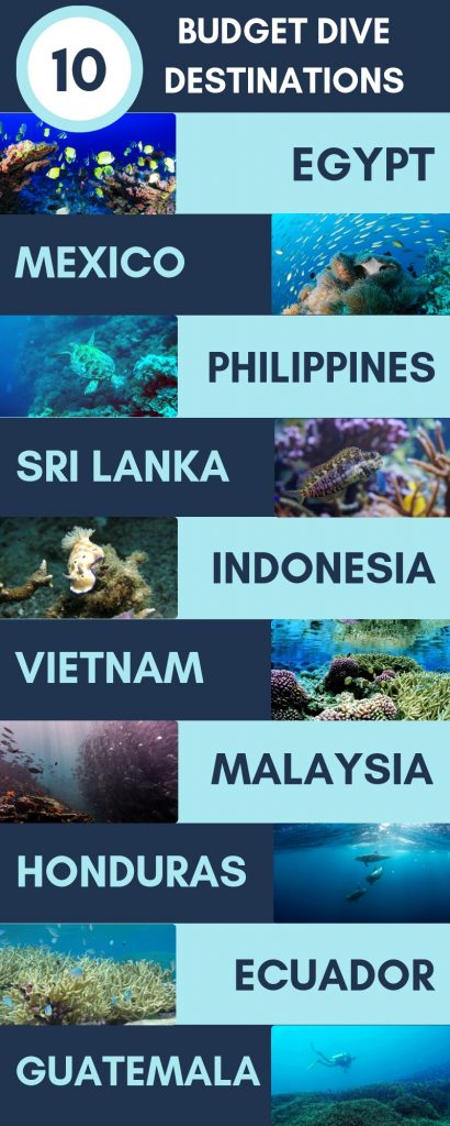 Top 10 Budget Dive Destinations