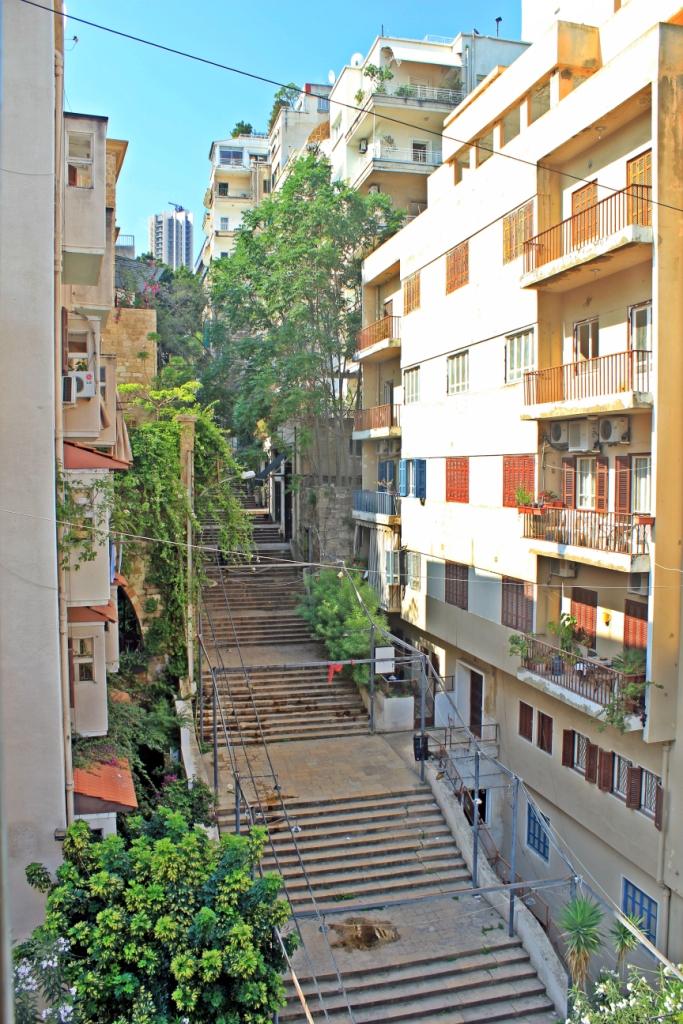 Beirut-St Nicolas Stairs