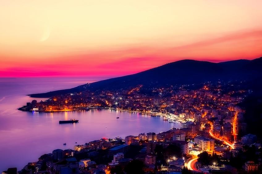 Albania Sunset
