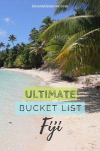 Bucket List Fiji