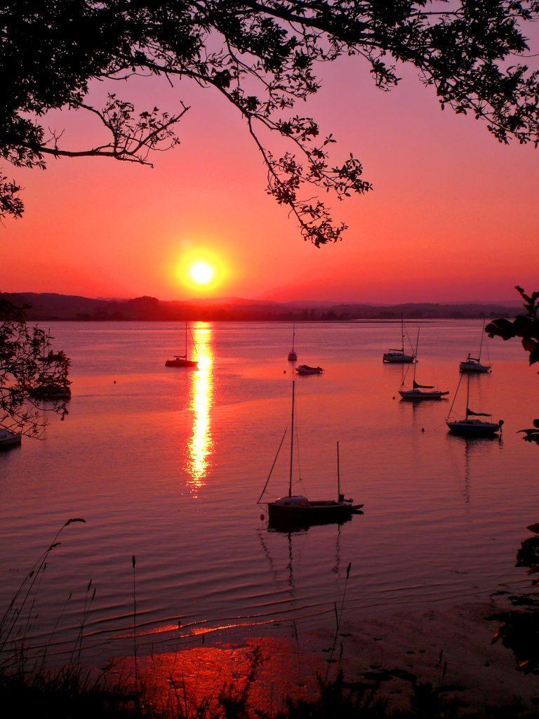 Sunset Lympstone