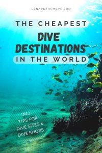 Cheapest Dive Destinations