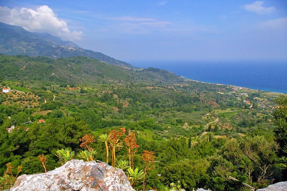 Samos Mountain View